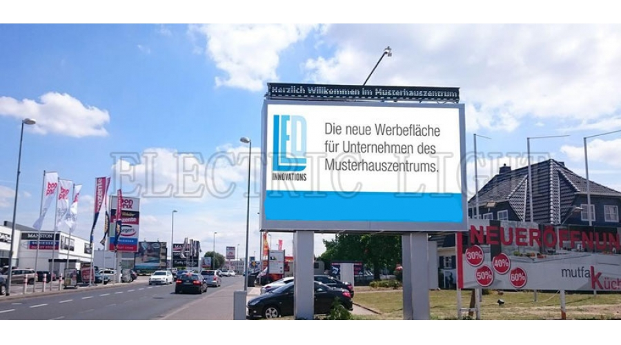 Germany gas station P10 DIP outdoor led display